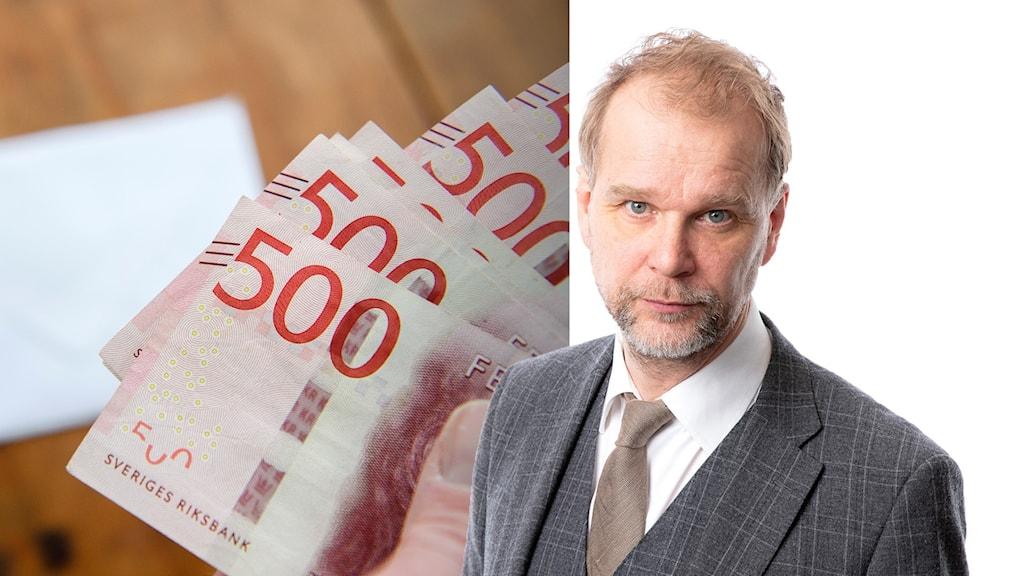 Ekonomikommentator Kristian Åström