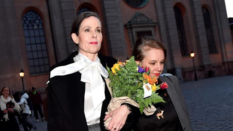 Sara Danius lämnar Akademien.