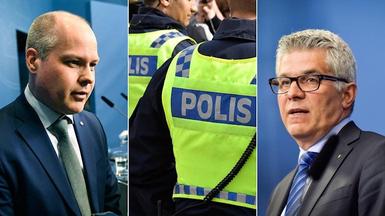 poliser, polisutbildning, morgan johansson, Anders Thornberg