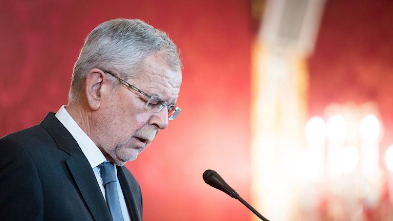 President Alexander van der Bellen.