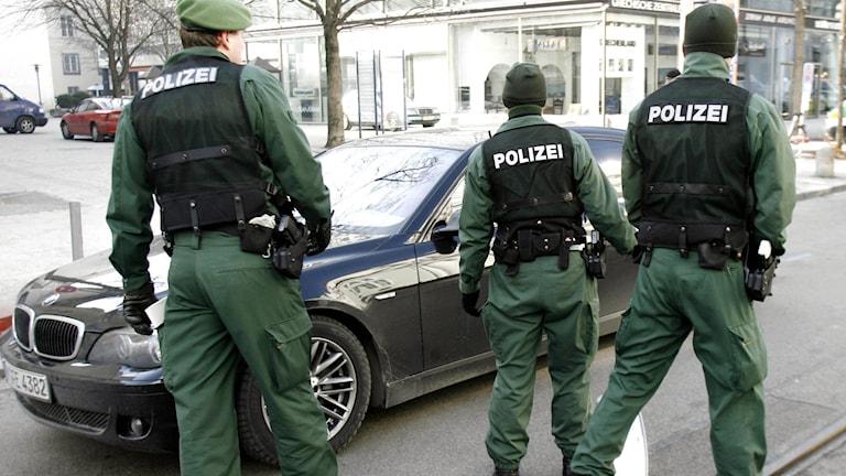 Tysk polis (arkivbild): Foto: Uwe Lein/TT.