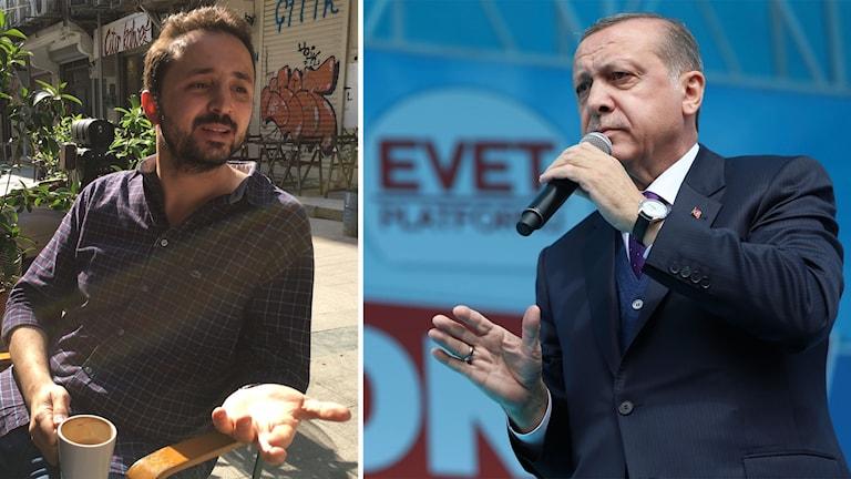 Enes Akin, Recep Tayyip Erdogan