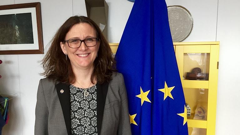 EU-kommissionär Cecilia Malmström