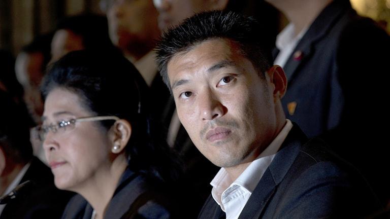 Framtidspartiets grundare och partiledare  Thanathorn Juangroongruangkit.