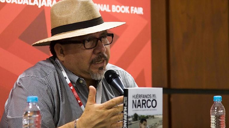 Arkivfoto på journalisten Javier Valdez