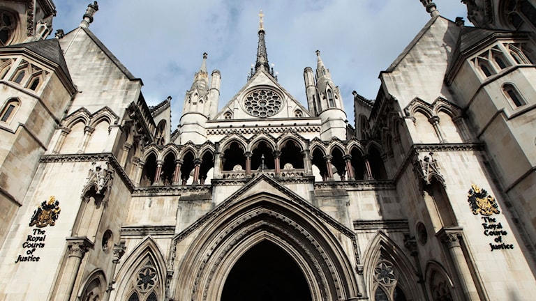 Domstolen Royal Courts of Justice