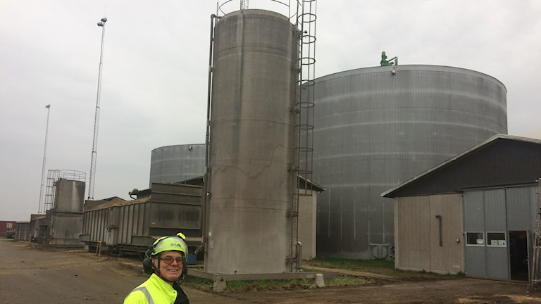 Biogas.