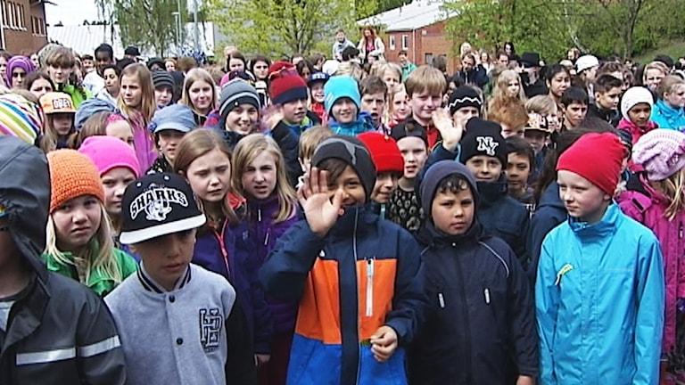 Hälsinggårdsskolan i Falun 2015, arkivbild.