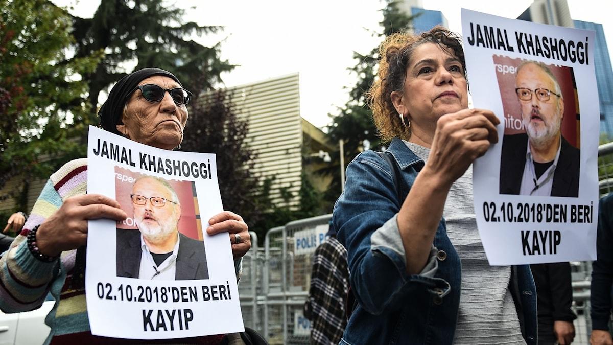 Jamal Khashoggi, journalist försvunnen