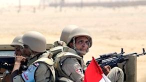 Egyptiska soldater (arkivbild). Foto: Amr Nabil/TT.