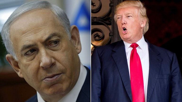 Israels premiärminister, Benjamin Netanyahu ska träffa USAs president Donald Trump i Vita Huset.