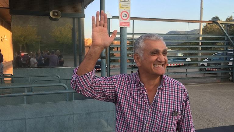 Hamza Yalcin was released on Thursday.