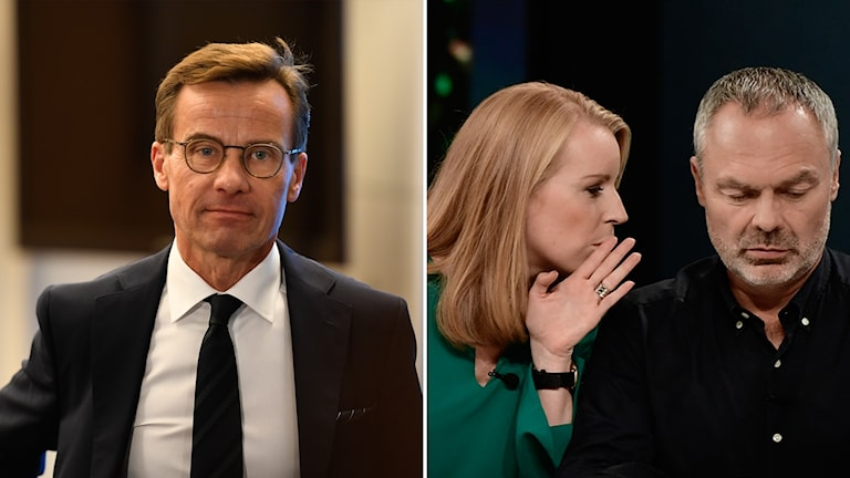 Ulf Kristersson (M) sockrar sitt bud till Annie Lööf (C) och Jan Björklund (L)