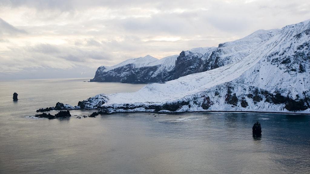 Arktiska ön Jan Mayen.