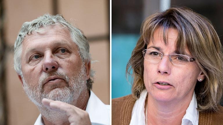 Miljöpartisterna Peter-Eriksson-Isabella-Lövin
