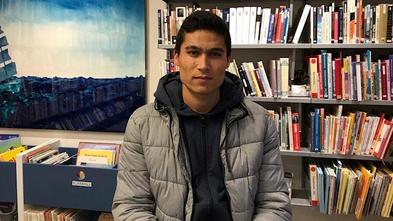 Nimat, 18 år och asylsökande.