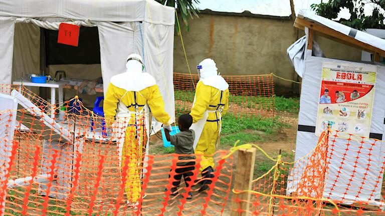 Sjukvårdsarbetare i Kongo-Kinshasa