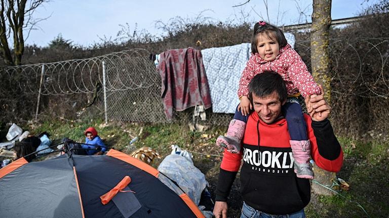 Grekland flyktingar