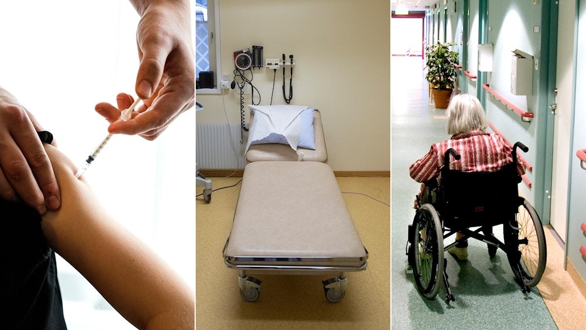 aleris, sjukvård, omsorg, äldrevård
