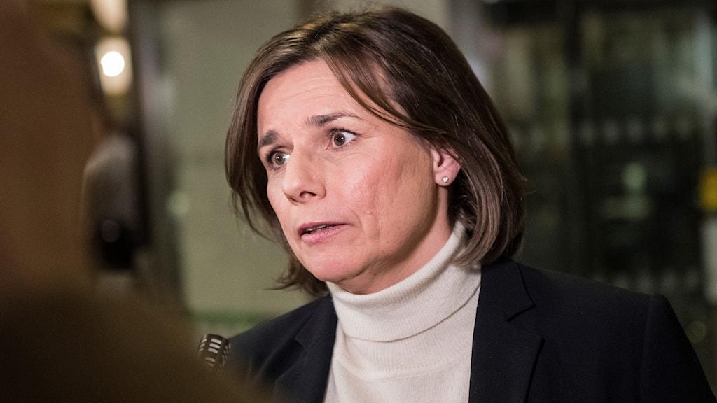 Klimatminister Isabella Lövin