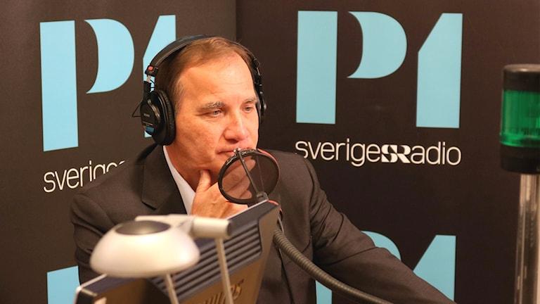 Stefan Löfven frågas ut av Ekot