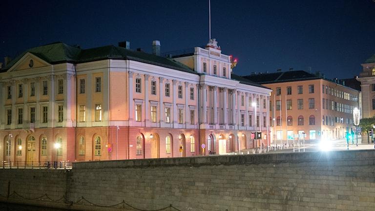 Utrikesdepartementet kvällstid