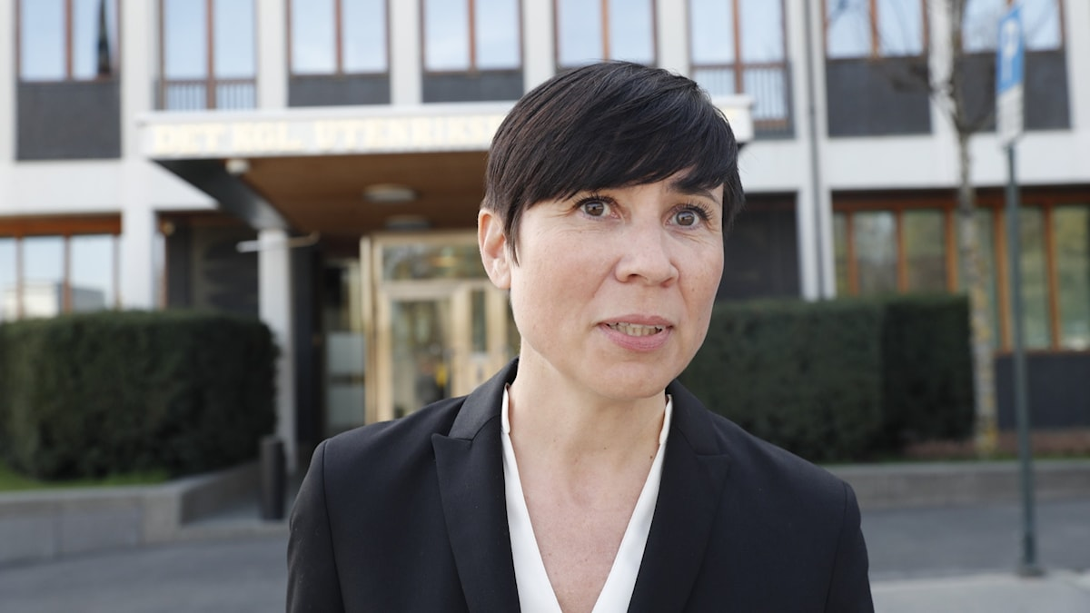 Norges utrikesminister Ine Eriksen Søreide.