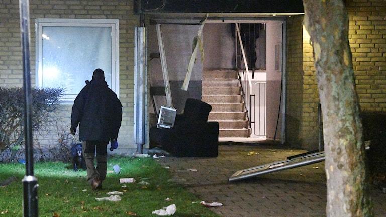 Två explosioner i Malmö inatt