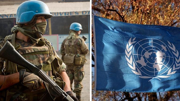 FN:s säkerhetsråd beslöt i kväll att dra ner på bidraget till FN-missionen i Kongo med 18 procent.