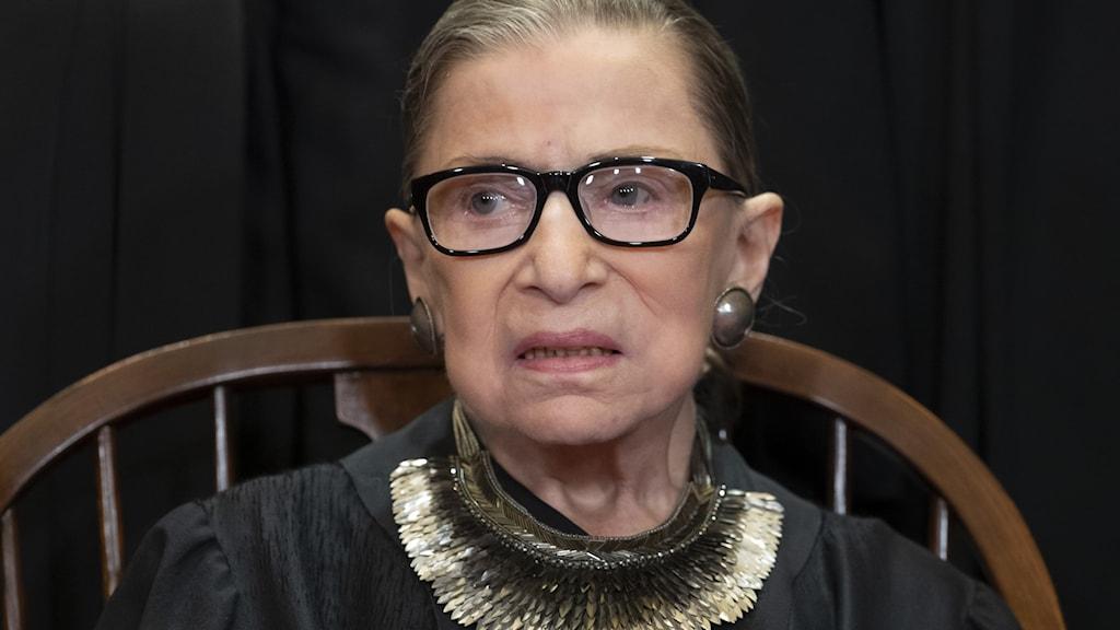 Ruth Bader Ginsburg, liberal domare i USA:s högsta domstol.