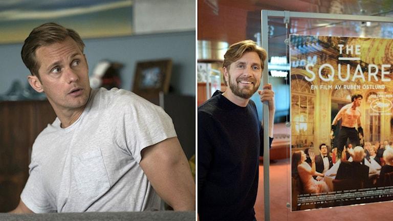 Ruben Östlund och Alexander Skarsgård.
