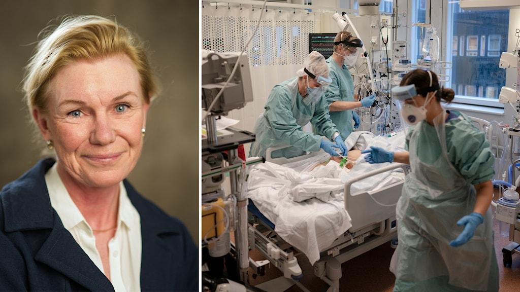 Christina Dalman, professor i psykiatrisk epidemiologi vid KI.