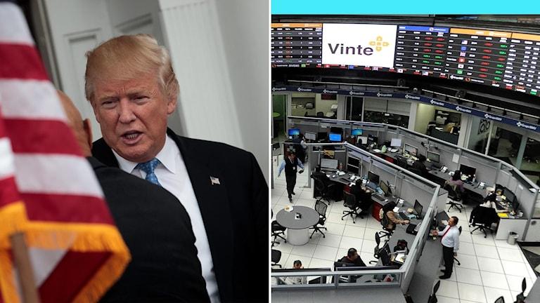 Trump och mexikanska börsen