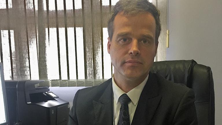Richard Ots, chef för IOM - Internationella migrationsorganisationen i Sydafrika