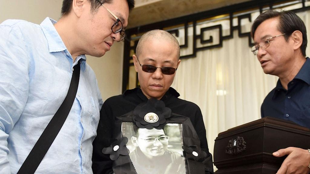 Liu Xiabos änka Liu Xia