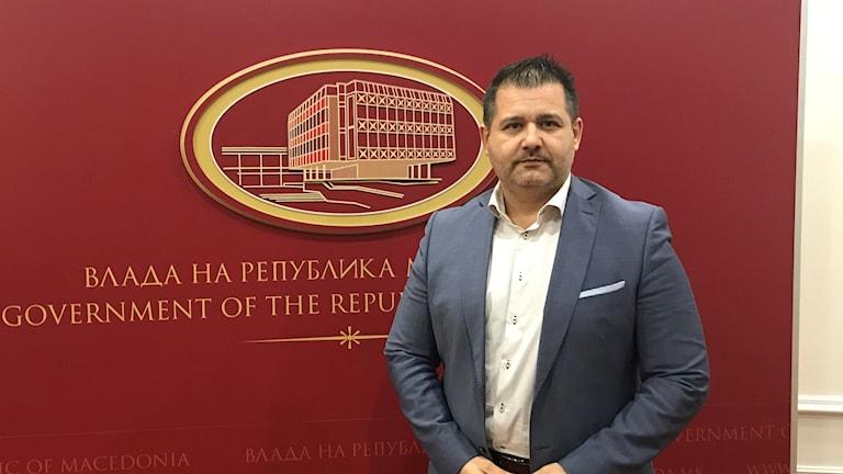ordmakedoniens regeringstalesperson Mile Bosnjakovski