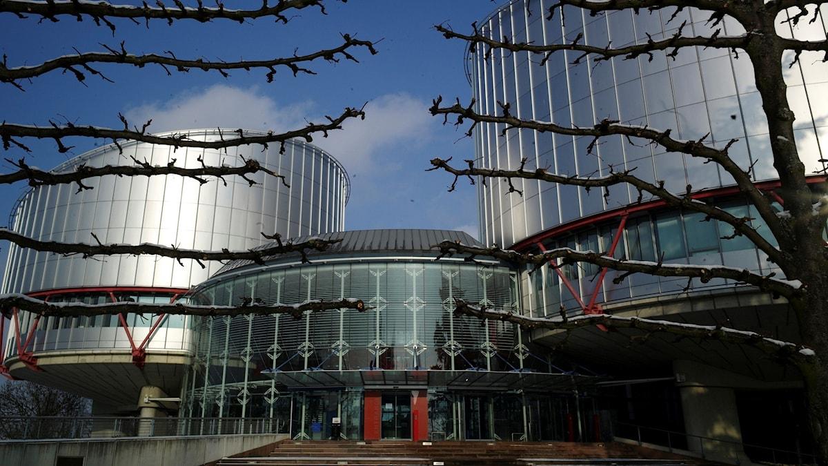 Europadomstolen i Strasbourg. Foto: Christian Lutz/TT.