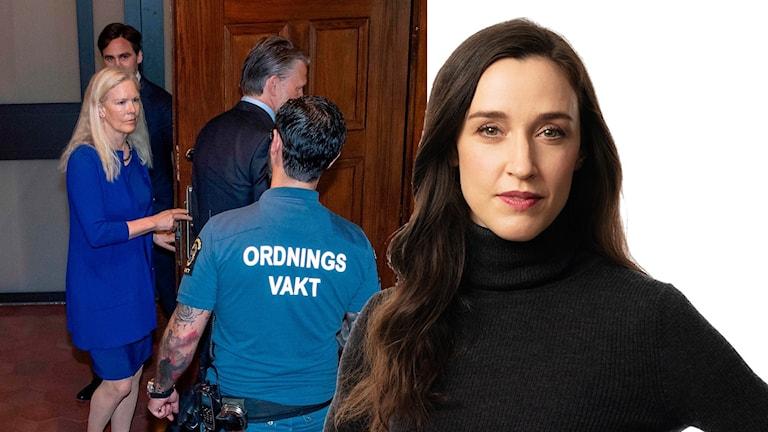 Ekots Kina-kommentator Hanna Sahlberg.