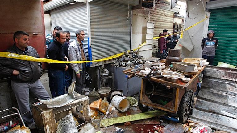 Terrordåd Bagdad