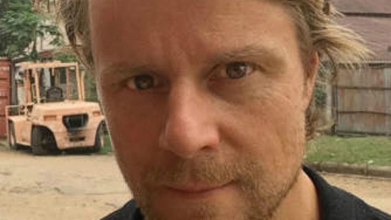 Staffan Lindberg i Kongo Foto Aftonbladet