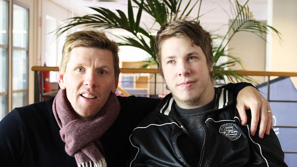 David Elm och Emil Hellkvist