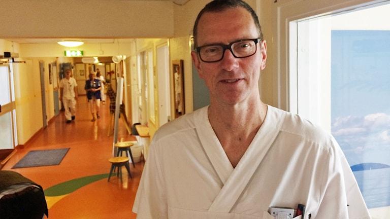Anders Thåström, verksamhetschef barnkliniken i Västervik.