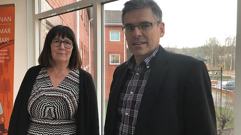 Ann-Gret Sillèn och Lars Rosander