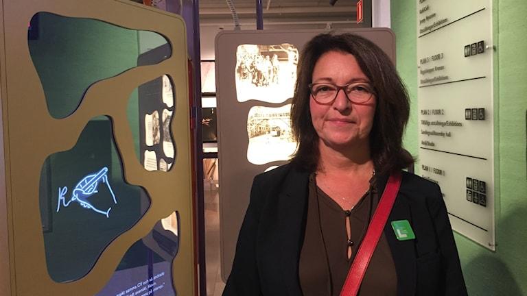 Erika Aronowitsch som är nationell samordnare på Forum för levande historia. Foto: Eric Porali.