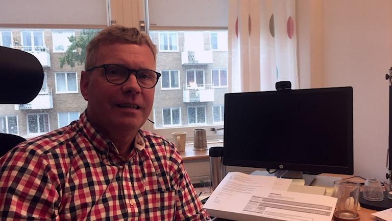 Projektledare Peo Fahström. Foto Eric Porali/Sverigesradio.