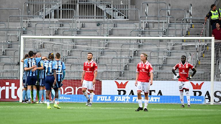 Allsvenskan Kalmar FF mot Djurgården.