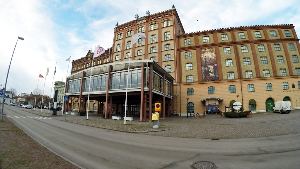 Ångkvarn i Kalmar.