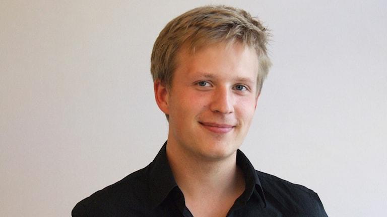 Kristoffer Örstadius. Foto: Simon Leijnse/Sveriges Radio