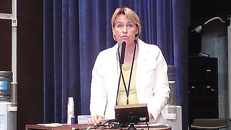 Inger Hilmansson. Foto: Ann-Sofie Ottosson/Sveriges Radio