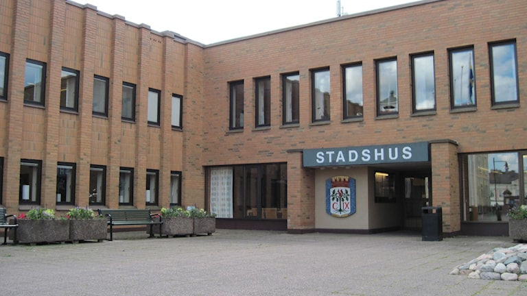 Stadshuset Vimmerby kommun. Foto: Johan Hermansson/Sveriges Radio